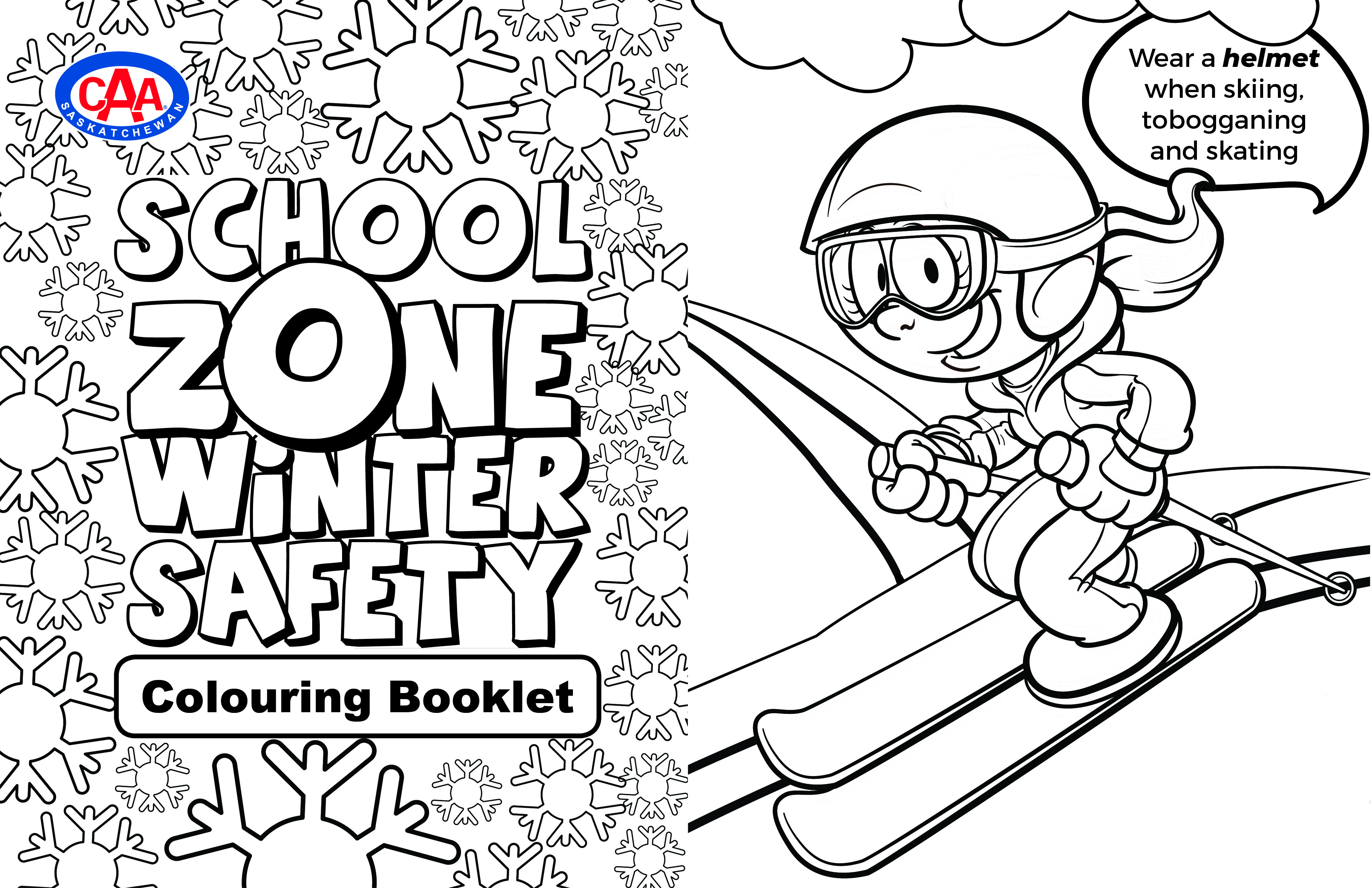 colouring booklet