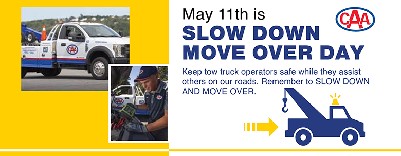 Slow Down Move Over Day - May 11, 2021