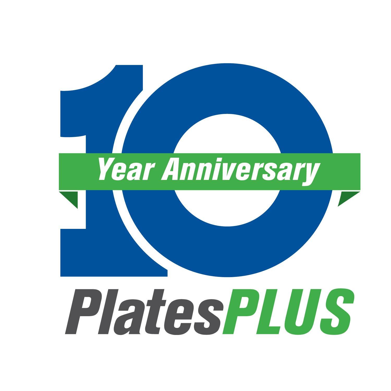 PlatesPLUS 10 Year Anniversary