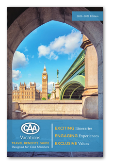 CAA Vacations brochure