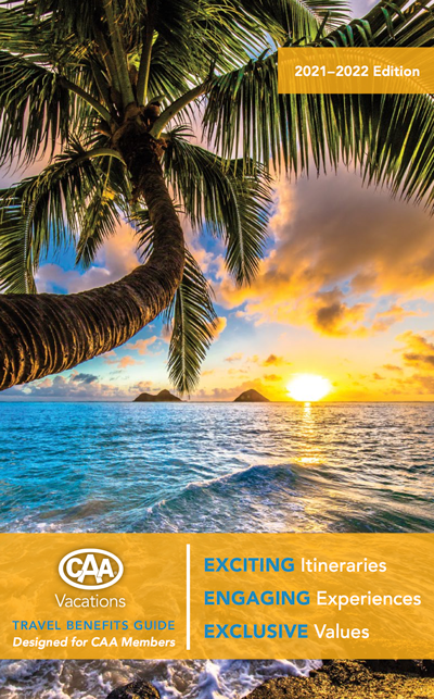 CAA Vacations brochure