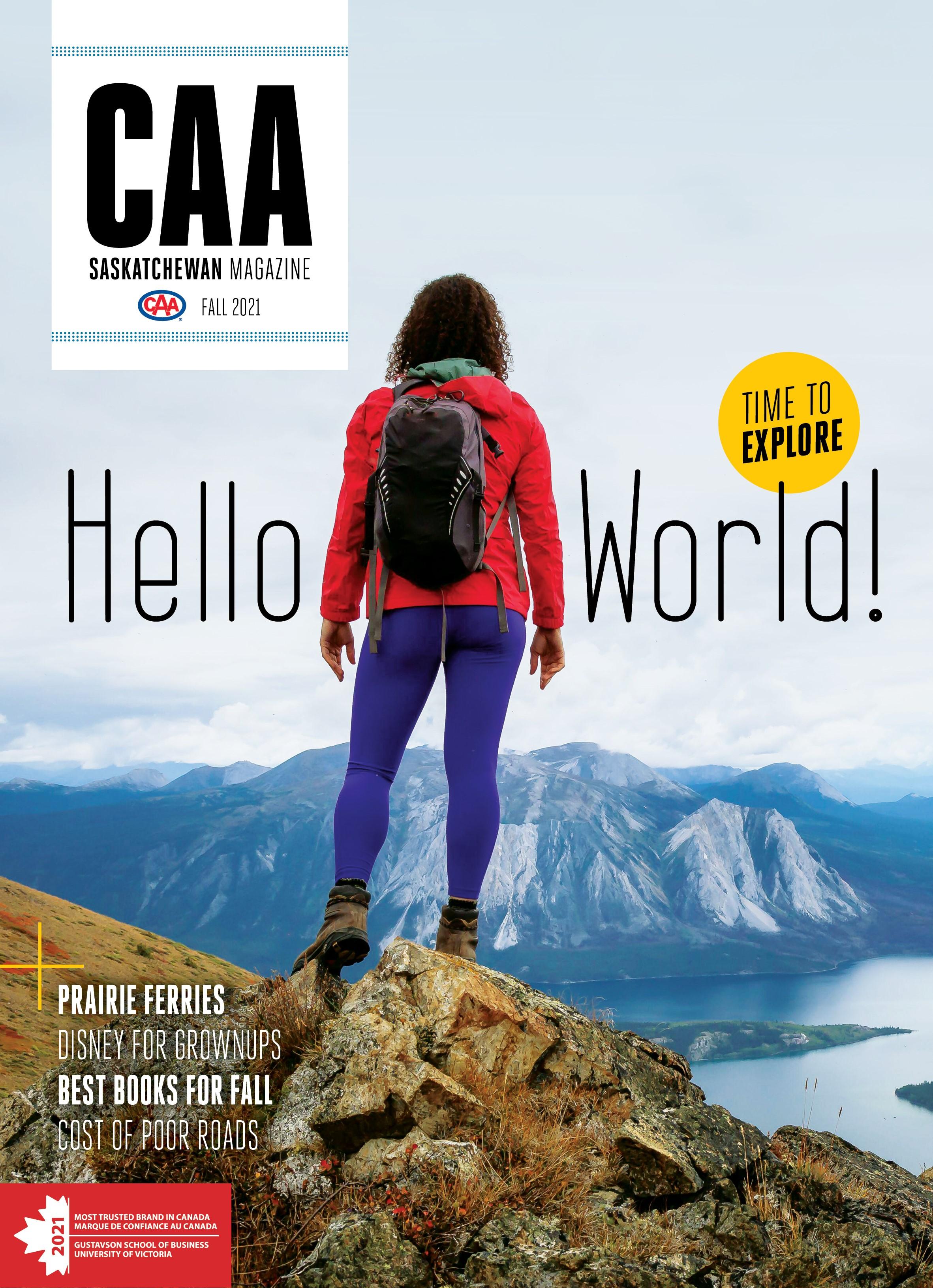 CAA Saskatchewan Fall 2021 Magazine